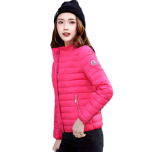 WERTUIOP 2019 New Coat Female Outerwear Parka Short Winter Cotton Woman Clothing