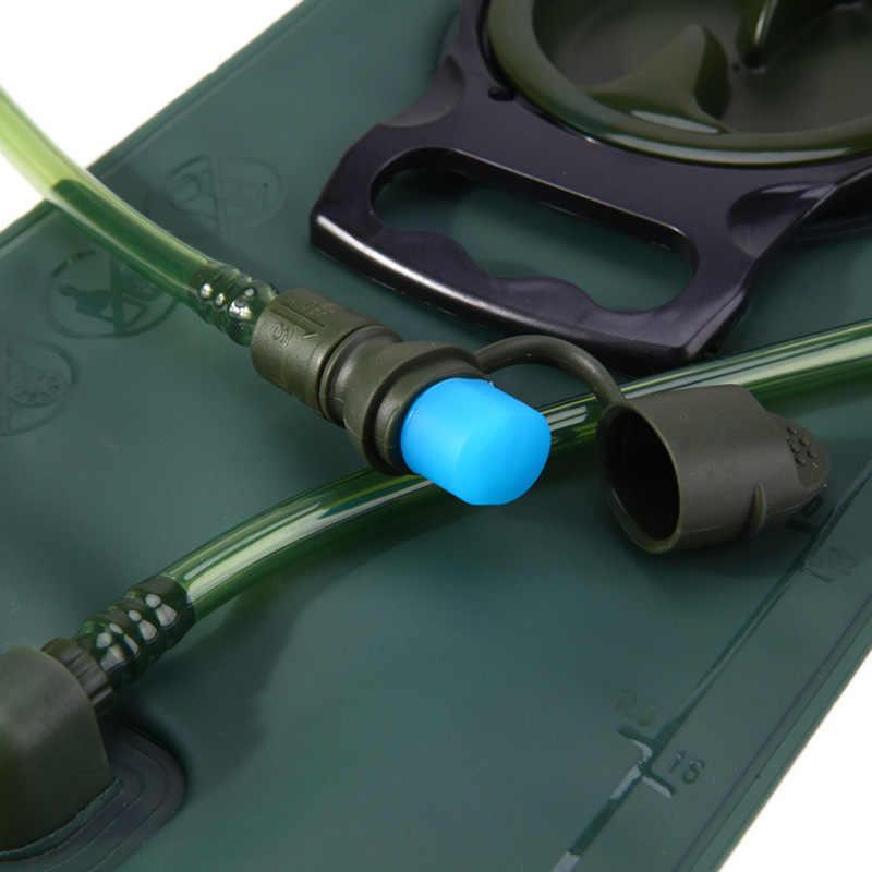 2L 2.5L 3L TPU bicicleta boca deportes bolsa de agua vejiga hidratación Camping senderismo escalada militar verde azul bolsa de agua