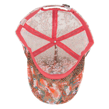 Abstract Design Rhinestone Baseball Cap