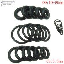 CS 3,5 мм OD10-95mm NBR резиновое кольцо уплотнительное кольцо Нефть уплотнительной прокладкой Автомобильные Уплотнение