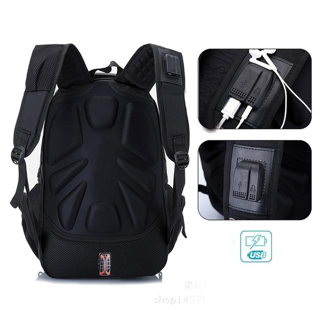 MAGIC UNION Laptop Bag External USB Charge Computer Backpacks Anti-theft Men Waterproof Bags Boy School backpack School bags 4