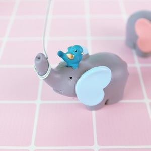 Image 5 - Cute Balloon Bird Elephant Animal Party Cake Topper Baby Shower Boy Girl Birthday Party Decorations Kids Happy Birthday Gifts