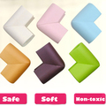 8 Unids/lote 60*60*12mm Soft Baby Safe Corner Protector Para Bebés Niños Escritorio de la Tabla Corner Guardia Niños Safety Edge Guards