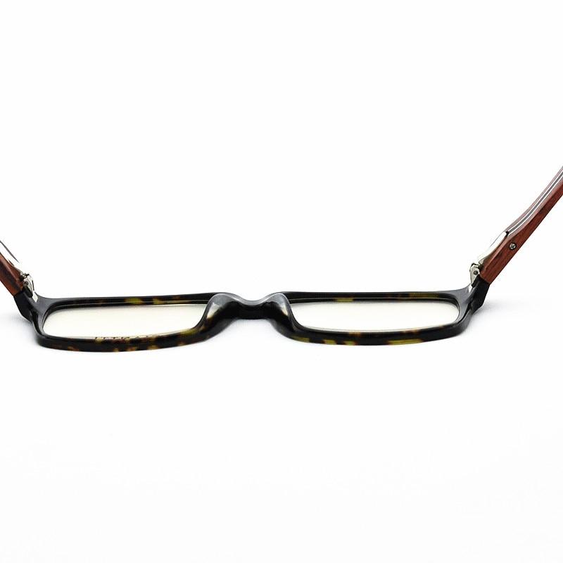 21b2a3742340 Ebony Wooden Eyeglasses Wood Fashion Prescription Optical Frame Man Full Rim  Spectacel Fashion Big Face Myopia Glasses 81106834-in Eyewear Frames from  ...