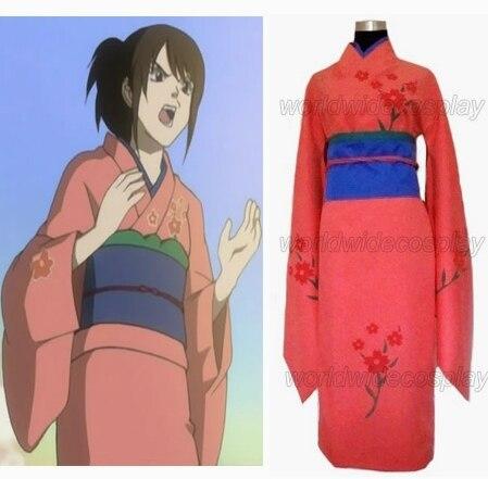 Gintama Tae Shimura Cospplay Costume Free Shipping Custom Made for Christmas