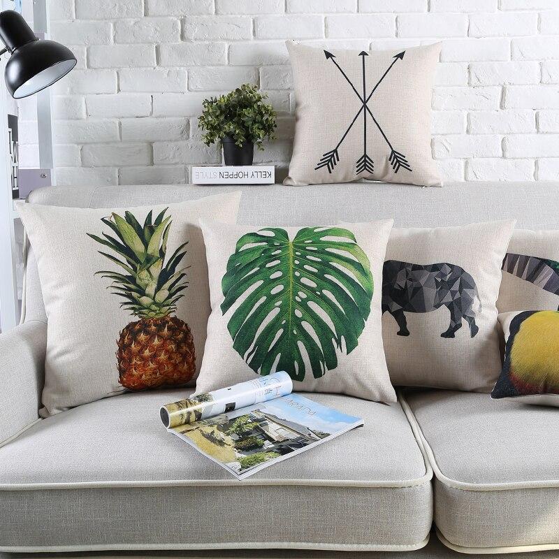 Aliexpress.com : Buy Cute Pineapple Pillows Case Green