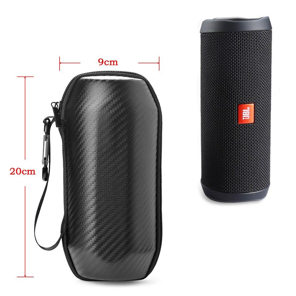 Купить с кэшбэком Wireless Bluetooth Speakers Travel Carry Cases Pouch For JBL Flip 4 Hard EVA With Belt Shockproof Portable Speaker Outdoor Bags