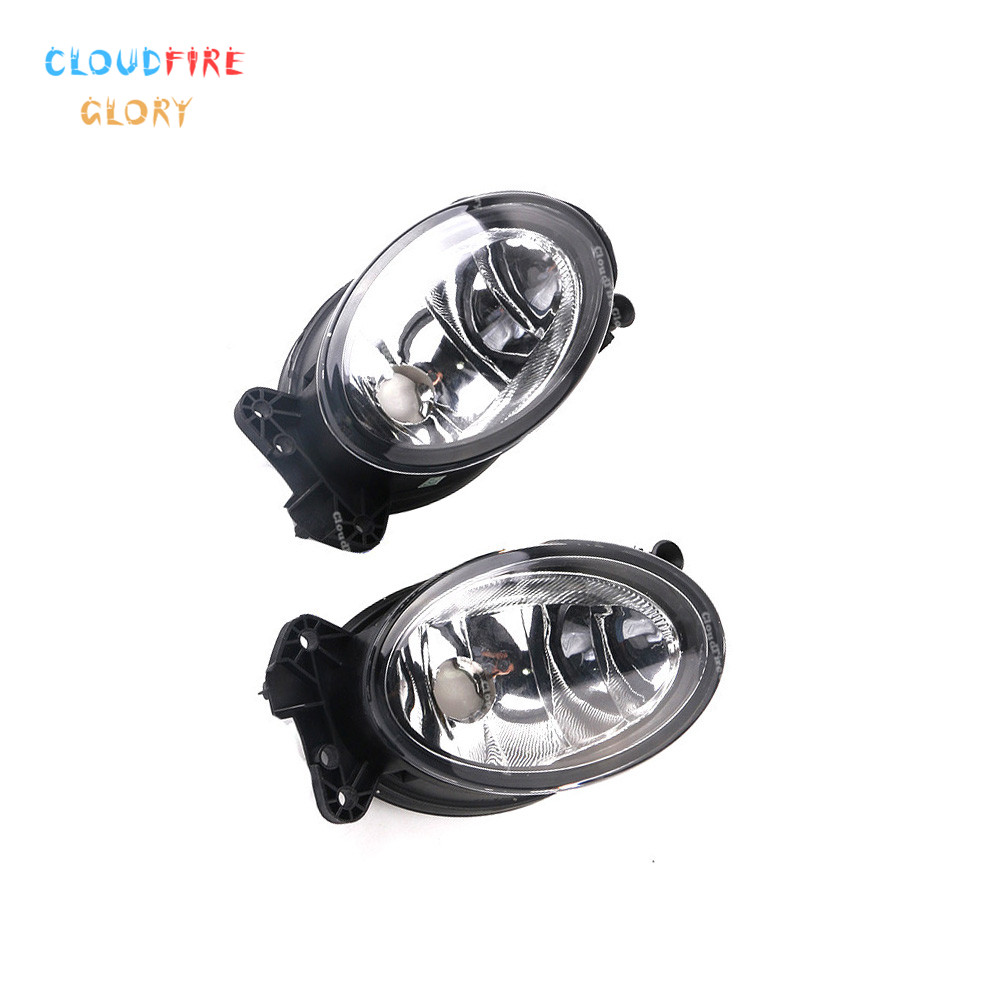 1698201556 1698201656 Front Piar L R Front Fog Light Lamp No Bulb For <font><b>Mercedes</b></font> <font><b>Benz</b></font> W204 <font><b>C230</b></font> C300 C350 W211 E320 E350 W164 image