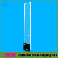 2017 Fashion store acrylic security alarm system with LED flash and ajustable sound Dual 8.2Mhz eas system 2antenna