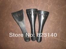 3 PCs High Quality Ebony Violin Tail Piece 4/4, Violin parts