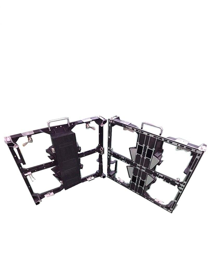 52*52dots Empty Cabinet P3.91 / P4.81 Die Casting Aluminum Empty Cabinet 500x500/500*1000mm Panel P4.81 Led Module Led Table