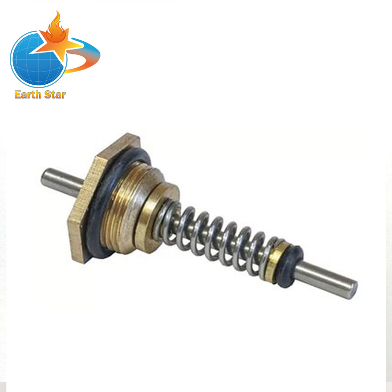 50pcs Lot Water heater valve assembly sensor  water linkage valve thimble  Hex nut spring needle M12 41mm