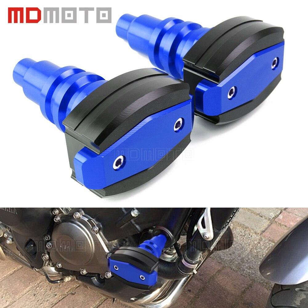 CNC Crash Pad Frame Slider Protection Guard For YAMAHA MT-09 MT09 MT 09 2013-2018 Motorcycle Crash Pads Left&Right Sides Sliders