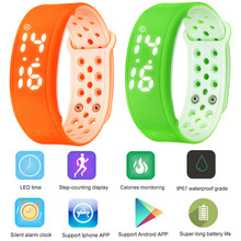 Smart Electronics Wearable Devices Smart Wristband Waterproof Calorie 3D Pedometer Band Health Monitor Sport Bracelet Vs Mi Band