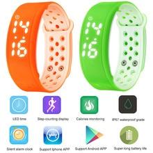 Smart Electronics Wearable Devices Smart Wristband Waterproof Calorie 3D Pedometer Band Health Monitor Sport Bracelet Vs Mi Band