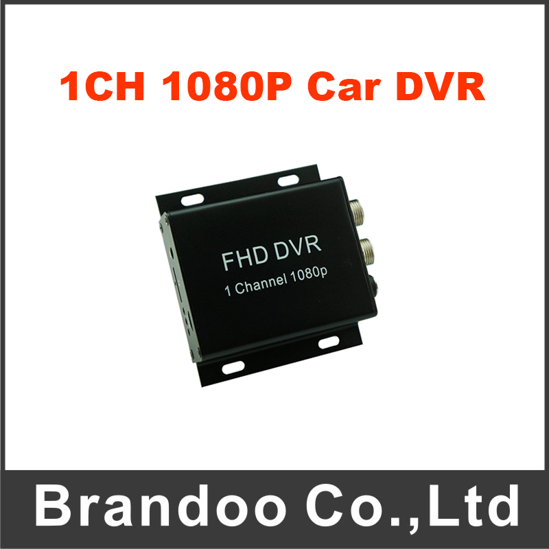 1CH 1080P Car DVR For Mobile Security System Support 128GB TF Card