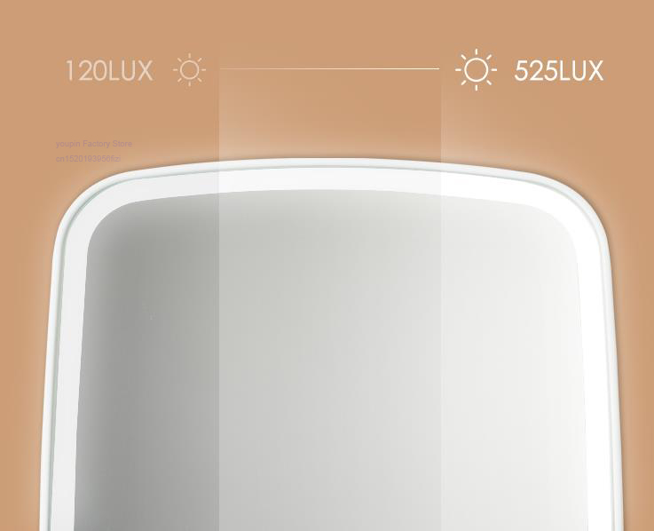 Makeup mirror led light portable folding light mirror 1