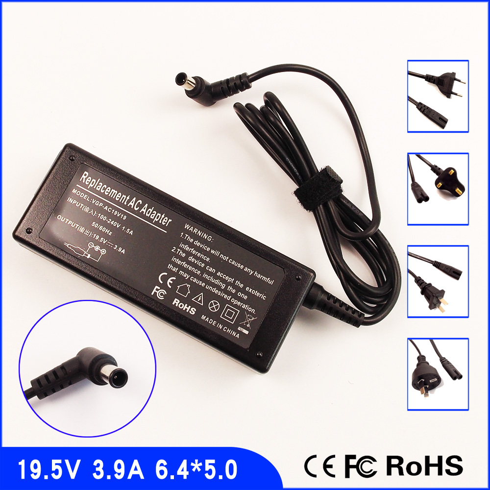 Us 1459 195v 39a Laptop Ac Adapter Power Charger Cord For Sony Vaio Vgn Cs Vgn Nr Vgn Nw Vgn S3 Vgn S4 Vgn S5 Pcg Grx Vgn Ns In Laptop Adapter