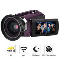 3 0 LCD WiFi Digital Camera Full 1080P Video Camera HD 4K Touchscreen Night Version DV