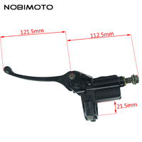 Right Hydraulic Master Cylinder Brake Lever For ATV Quad Moped Scooter Motorcycle Item DS 129 Free