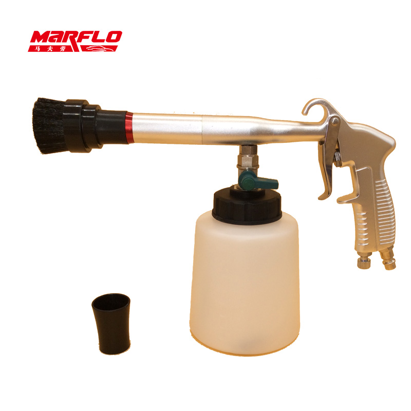 Image 2 - Marflo Leather Cleaner Tornado Gun Bearing Tornador Car Wash  Tools High Qulaity Carpet Cleaning Toolingleather cleanercar leather  cleaner