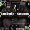 Good Quality Custom Car Floor Mats For Volkswagen All Models Vw Golf Tiguan Jetta Touran Touareg