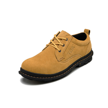 TBA 2016 New Britain Tide Shoes Men's Suede Leather Lace Up Round Toe Causal Shoes High Quality Male Spring And Autumn Flats