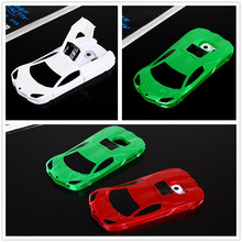 Fashion Machine 3D Cool Sports Car Stand Holder Phone Case For Samsung Galaxy S6 Racing Car Back Cover High Quality Lambor Capa