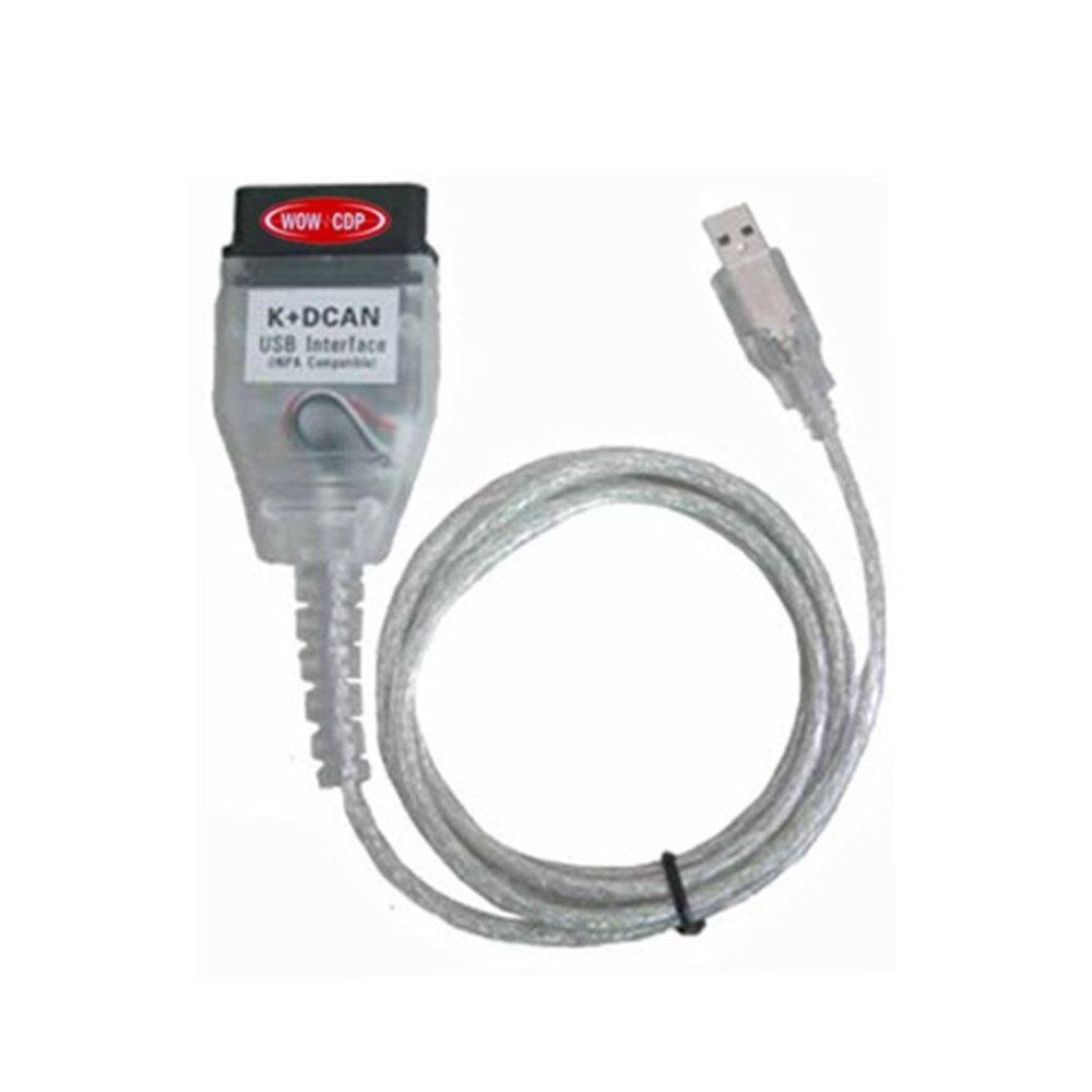 Prix pour 2015 câble pour BMW INPA K + D PEUT avec FT232RL puce