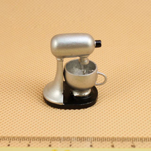 G05-X152 barn baby gave Toy 1:12 Dollhouse mini Møbler Miniature Silver mixer 1pcs