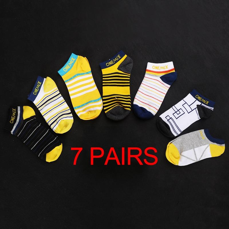 <+>  ONEMIX Женские Носки Хлопковые Носки Носки 7 пар / много Беговые Носки Дышащие Удобные Фитнес Femme  ✔