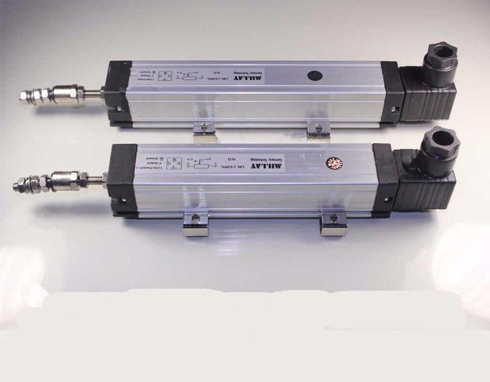 KTC-600mm tige échelle électronique capteur de déplacement linéaire capteur KTC machine de moulage par injection règle universelle de l'industrie