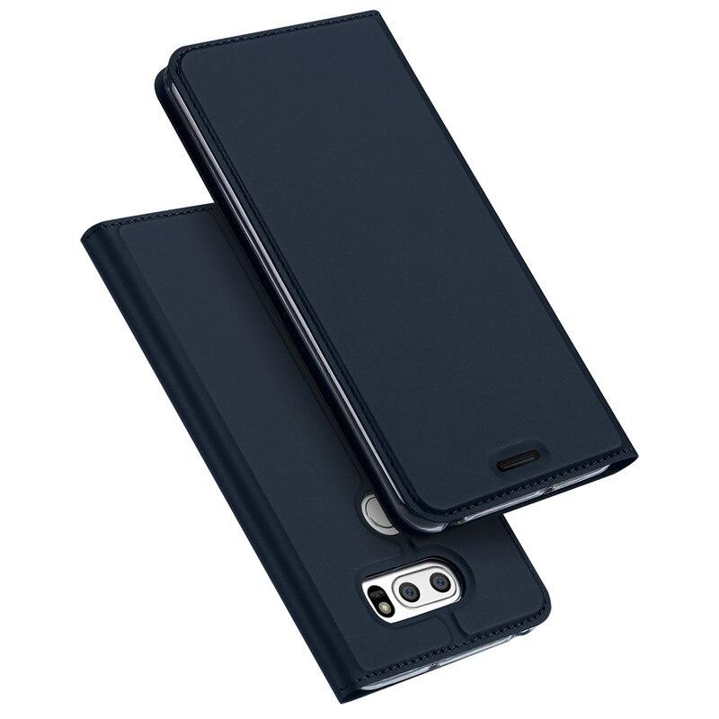 Flip Cover For LG V30 Case PU Leather Fundas Card Slot Stand Design Wallet For LG V30 Phone Cases