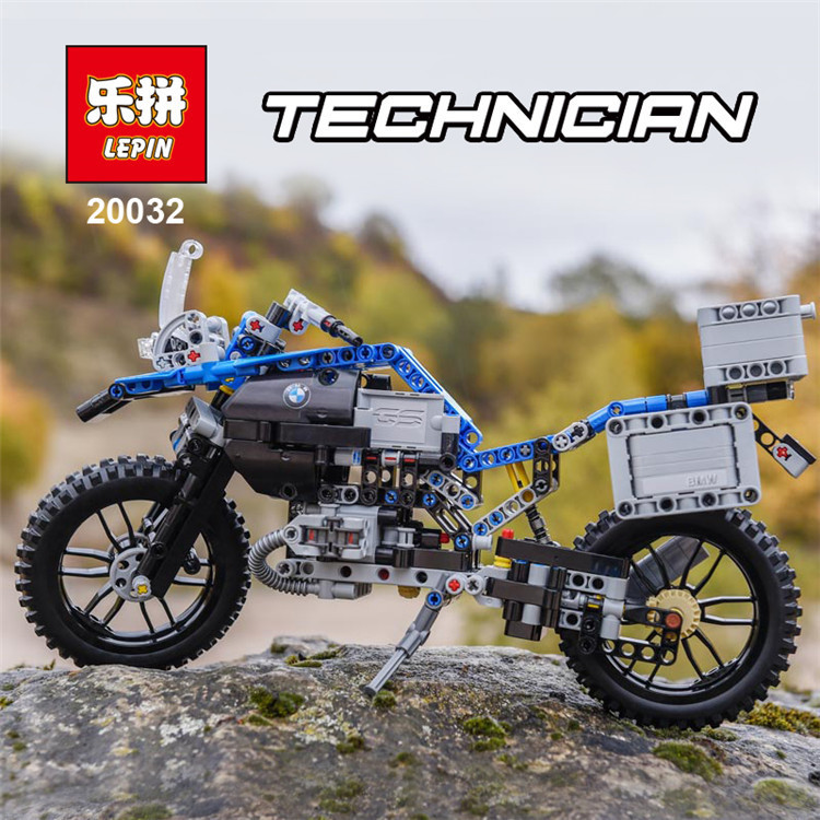New 2017 Lepin 20032 Technic Series The BAMW Off-road Motorcycles R1200 GS Building Blocks Bricks Educational Toys 42063 B131 lego technic конструктор приключения на bmw r 1200 gs 42063