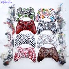 迷彩赤白幽霊 Xbox 360 コントローラシェル