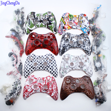 цена на camouflage Red  White Ghosts Replacement Housing For XBOX 360 Controller Shell