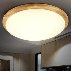 Proste stałe drewna doprowadziły lampa sufitowa kreatywny salon lampka do sypialni balkon wejście japoński drewno oświetlenie ceiing lampa wisząca ZA MZ76