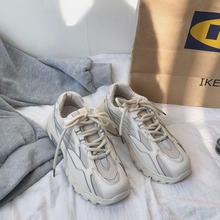Кроссовки на массивном каблуке; блестящие дизайнерские женские кроссовки; сетчатая дышащая женская обувь; повседневная обувь на плоской платформе; мягкая обувь для отдыха