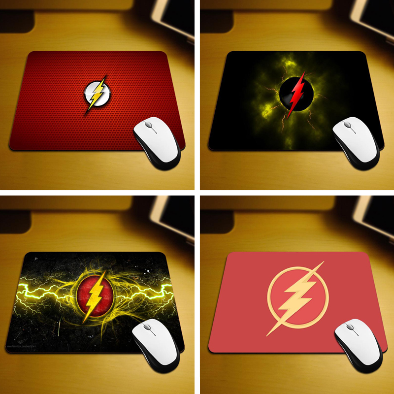 MaiYaCa Flash Logo Rubber Soft Gaming Mouse Games Black Mouse pad 18 22cm and 25 29cm