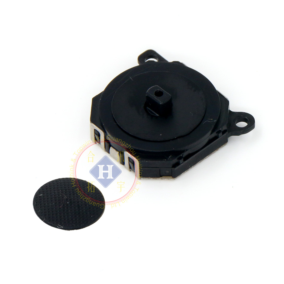 HOTHINK New Black Replacement 3D Analog Joystick Button With Cover Cap For PSP 1000 / PSP100x PSP 1001 1004 1007 1008