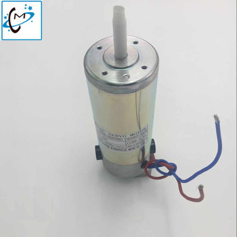 Eco solvent printer Infinity 33VC/3312C/3308B 24V step motor Aprint X motorDC servo motor 100W 55ZYTD51 motor
