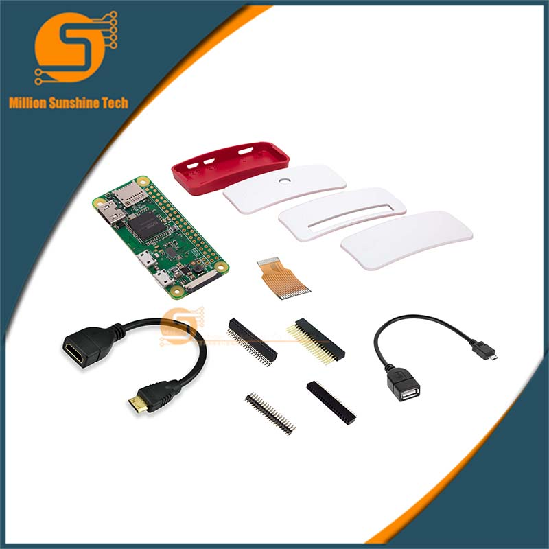 Raspberry Pi Zero W Basic Kit Free Shipping