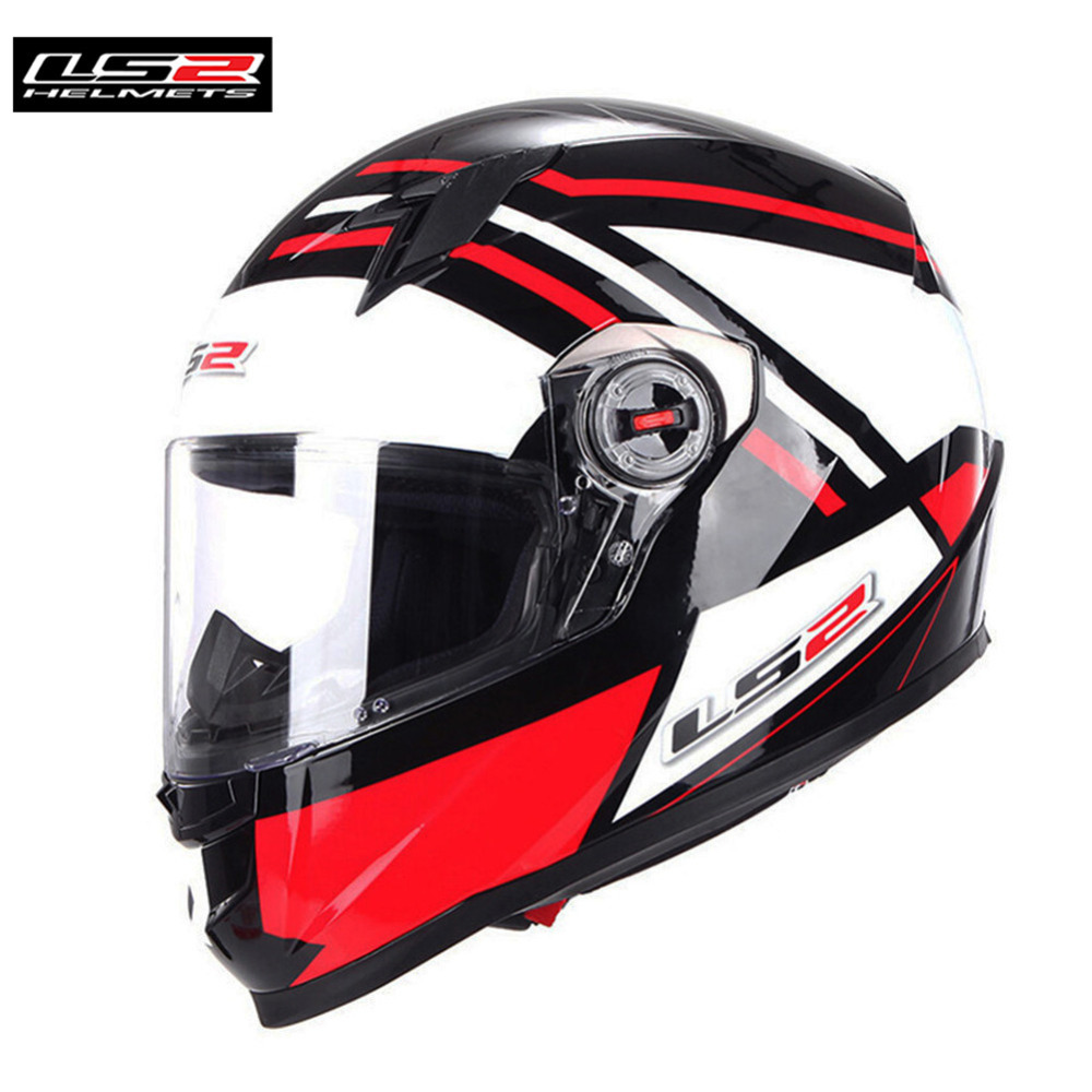 LS2 FF358 Motorcycle Helmet Full Face Motorbike Men Racing Casque Moto Casco Capacetes de Motociclista