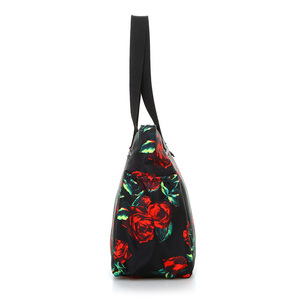 Image 3 - Floral Big Shoulder Bag Lightweight Large Capacity Casual Bag Waterproof Oxford Rural style Handbag Women Fashion Travel Bag