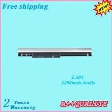 14,8 В 2200 мАч Тетрадь Аккумулятор для hp LA04 728460-001 F3B96AA HSTNN-UB5M HSTNN-UB5N HSTNN-Y5BV ноутбука