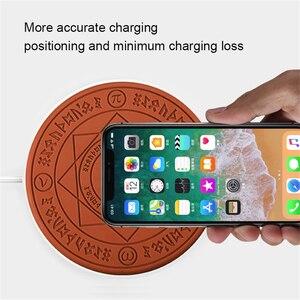 Image 4 - 2020 волшебное Беспроводное зарядное устройство Qi Беспроводная Быстрая зарядка для iPhone X XS 8 Samsung Xiaomi Redmi Huawei Honor Phone
