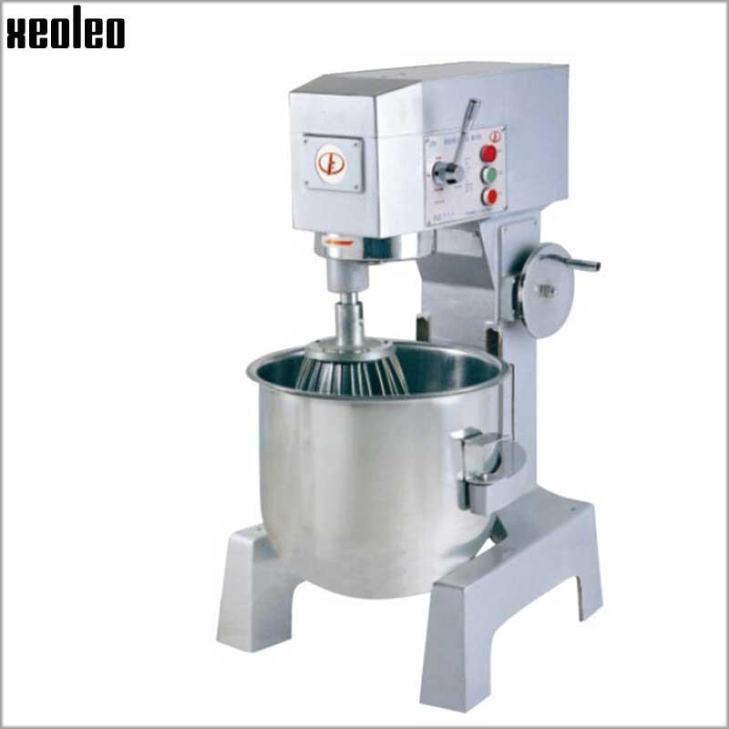 Xeoleo 40L Food mixer Commercial Planertarias mixer 380V/220V Dough Mixer Dough keading machine Egg beater 2200W