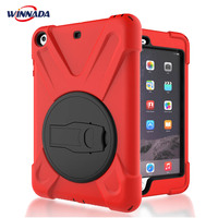 Case For IPad Mini 1 2 3 Hand Held Shock Proof Full Body Cover Handle Stand