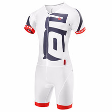 2017 White Cycling Jumpsuit Sets Ropa Ciclismo Maillot Cycling Girls Clothing Skinsuit Triathlon Bike Jerseys Wetsuit Suit Men