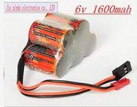 VB Power 6V 2 3A 1600MAH 2 3A 5x1 2V NI MH Rechargeable Battery Trapezoidal Gasoline